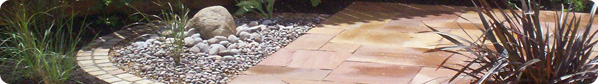 CC Landscape Garden Design & Construction Hard paving and rockery
